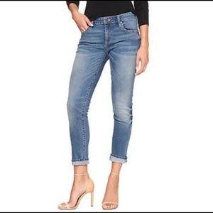 GAP FACTORY Cropped Girlfriend Jeans sz 12